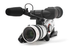 Digital video camcorder Stock Images
