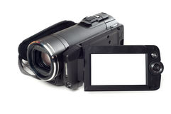 Digital video camera stock image