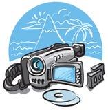 Digital video camera Royalty Free Stock Photography