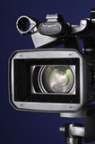 Digital Video Camera. On tripod Royalty Free Stock Photography