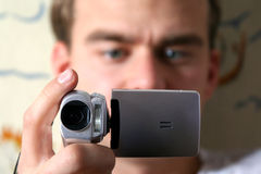 Digital video camera Stock Photography