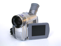 Digital Video Camera. DV camera royalty free stock photo