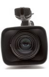 Digital Video Camera (Close Front View) Royalty Free Stock Photo