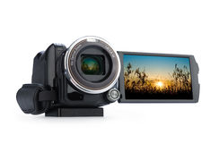 Digital video camera. Stock Photos