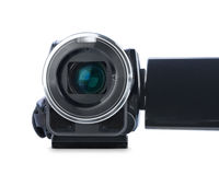 Digital video camera. Royalty Free Stock Photo