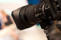 Digital video camera lens Stock Photo