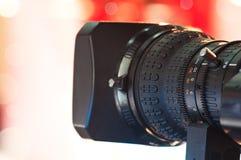 Digital video camera lens Royalty Free Stock Image