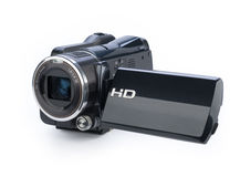 Digital video camera Royalty Free Stock Photos