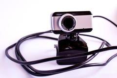 Digital-Video-cameraon wei?er Hintergrund stockfotos