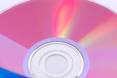 Digital Video Disc Surface Royalty Free Stock Photos