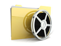 Digital Video Folder Stock Photos