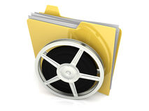 Digital Video Folder Stock Images