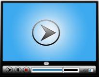 Digital video massmediaspelare Arkivfoton