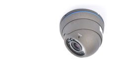 Digital Video Recorder and video surveillance cameras. stock photography