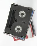 Digital video tapes 2 Stock Photo
