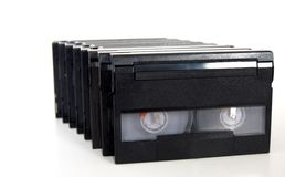 Digital video tapes casette Stock Photos