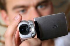 Digital-Videokamera Lizenzfreie Stockbilder