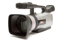Digital-Videokamera (Vorder-Seite Ansicht) Stockfotos