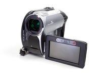 Digital-Videokameraweißhintergrund Stockfotografie
