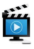 Digital-videoscharnierventil Stockbild