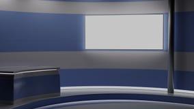 Digital-Videovortragkonferenz Klassifizieren Sie Gehör-Tabellen-Artinnenraum Wi-Fi Zeichen geformten Abbildung 3D Lizenzfreie Stockfotos