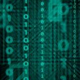 Technologic binär bakgrund Royaltyfria Bilder