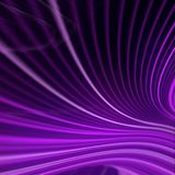 Digital violet colored lines abstract background. 3d rendering Stock Images