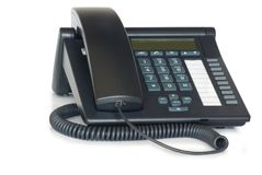 Digital VoIP phone. Stock Images