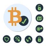 Digital-Währungszeichen Stockfotos