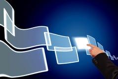Digital-Wahl Lizenzfreies Stockfoto