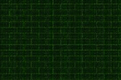 Digital wall made of binary code, background Royalty Free Stock Images