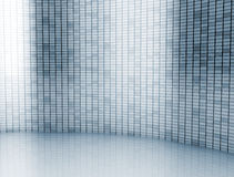 Digital wall. Tall digital wall made of small squares Stock Photos