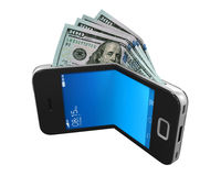 Digital Wallet Concept Royalty Free Stock Photos