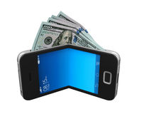 Digital Wallet Concept Royalty Free Stock Photography