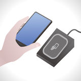 Digital Wallet, Mobile Payment System, image illustration Stock Photos