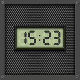 Digital watch background Stock Image