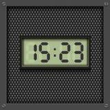 Digital watch background Stock Image