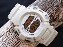 Digital watch chronograph Royalty Free Stock Photo