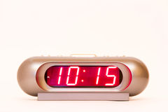 Digital Watch 10:15 Royalty Free Stock Photos