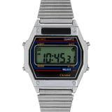 Digital watch för tappning Fotografering för Bildbyråer