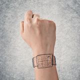 Digital watch Royalty Free Stock Image