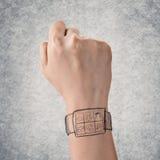 Digital watch Royalty Free Stock Image