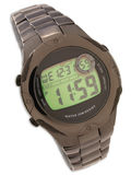 Digital Water resistant watch Royalty Free Stock Photo