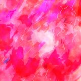 Pretty Pink Watercolor Ink Paper Background Royalty Free Stock Photos