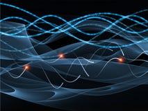 Digital Wave Stock Image