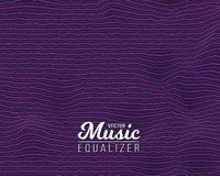 Digital Wave Equalizer. Sound Noize Wave. Illustration of Digital Wave Equalizer. Sound Noize Wave Distortion Graph. Music Pulse Audio Frequency Background Royalty Free Stock Photography