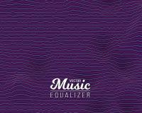 Digital Wave Equalizer. Sound Noize Wave Royalty Free Stock Photography