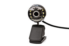 Digital webcam Stock Photo
