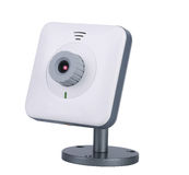 Digital-Webcam getrennt auf weißem Hintergrund Lizenzfreie Stockbilder