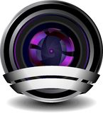 Digital webcam icon Stock Images